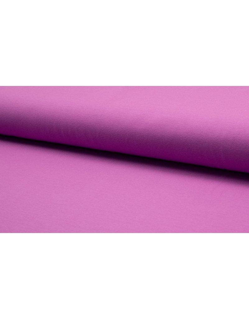 Baumwolljersey light purple helllila