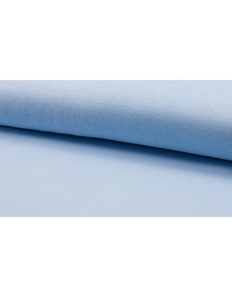 Bündchen Strickschlauch Uni blue hellblau