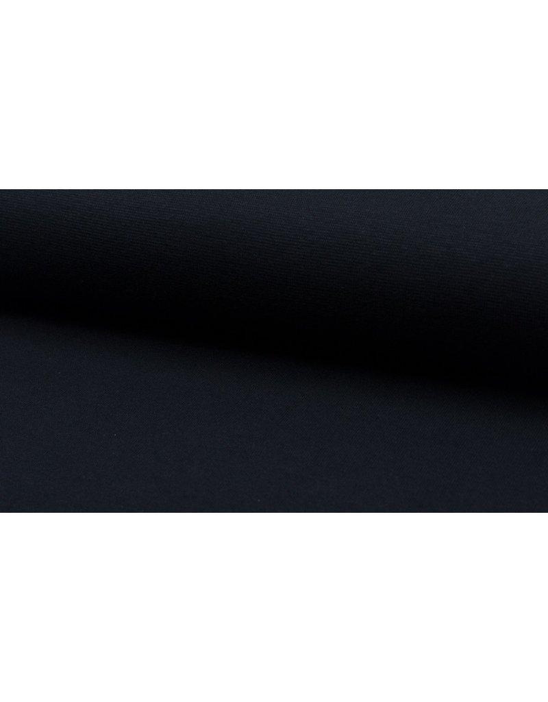 Bündchen Strickschlauch navy blau