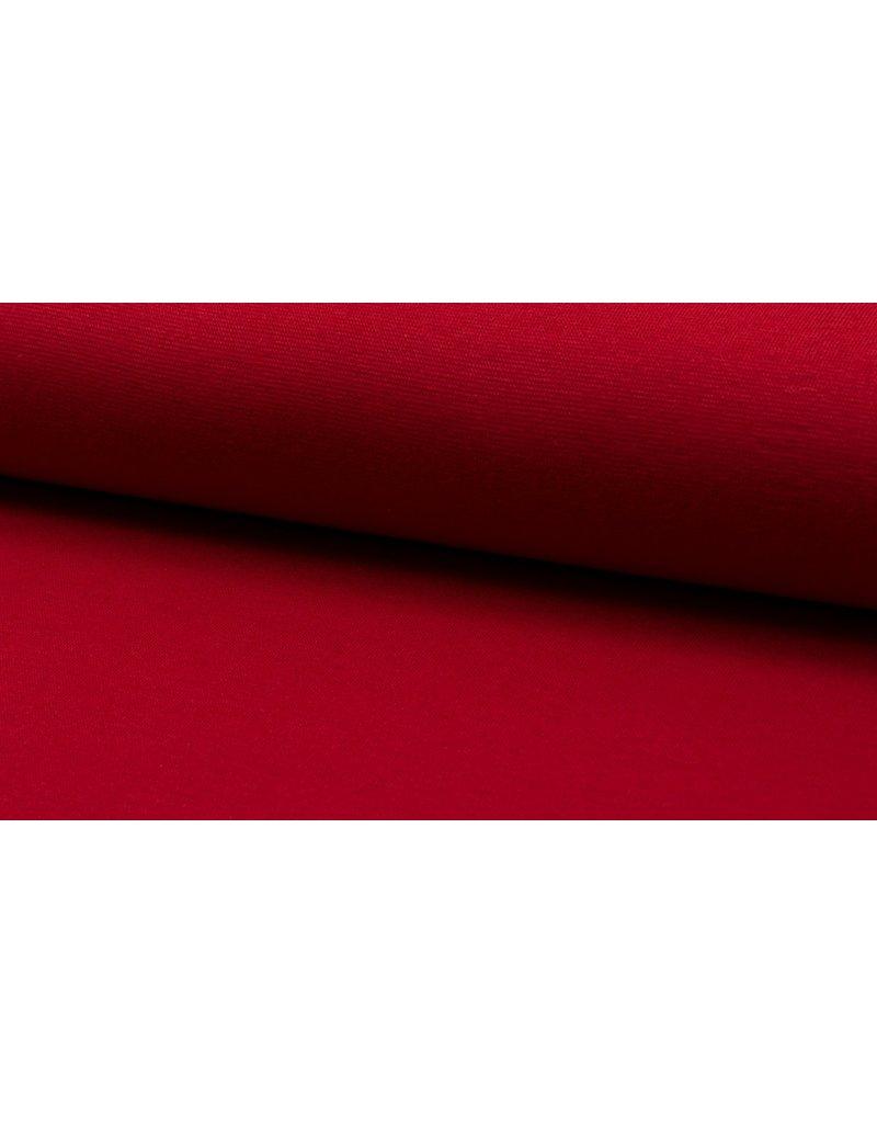 Bündchen Strickschlauch red rot
