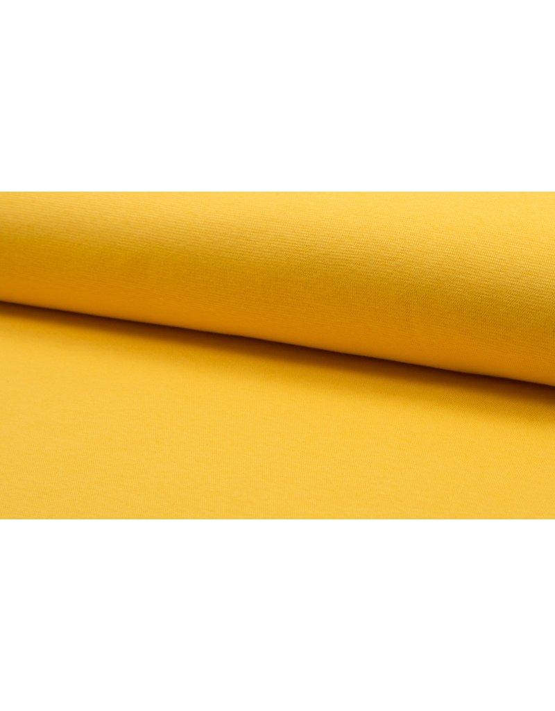 Bündchen Strickschlauch yellow gelb