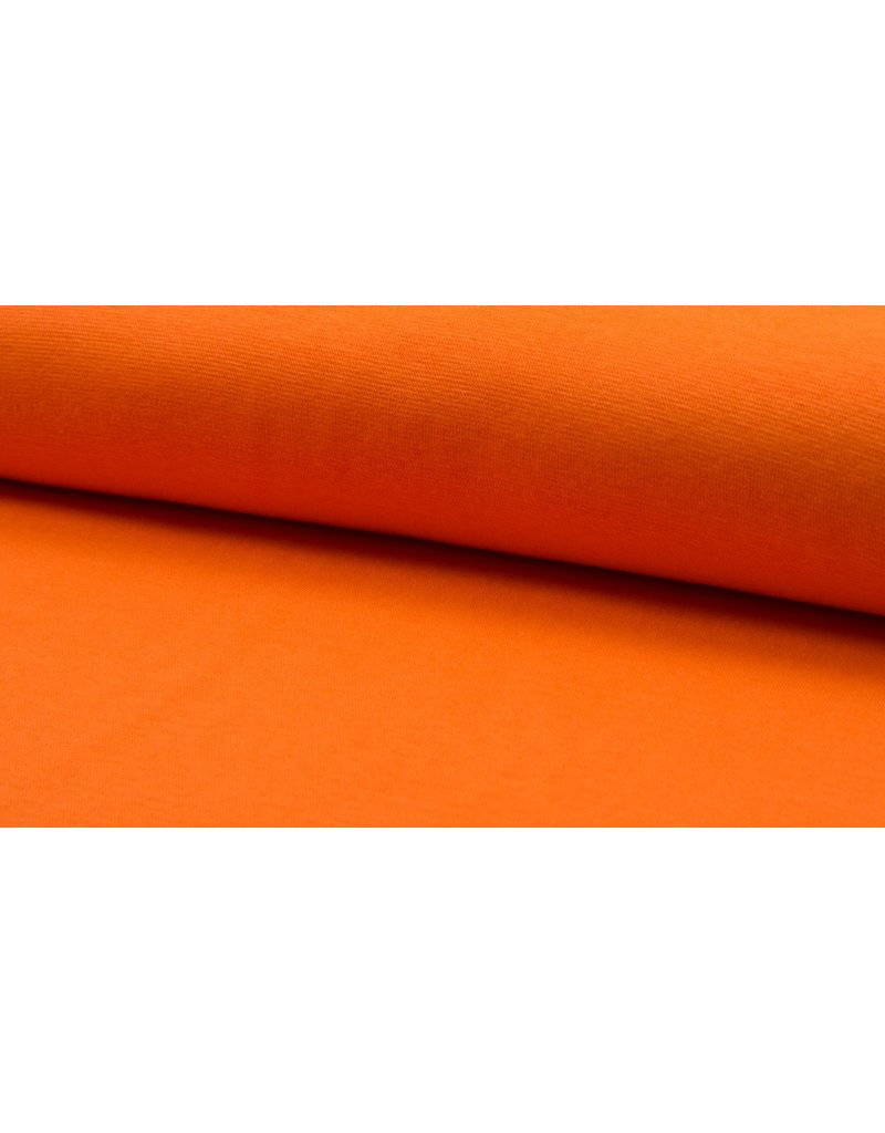 Bündchen Strickschlauch orange