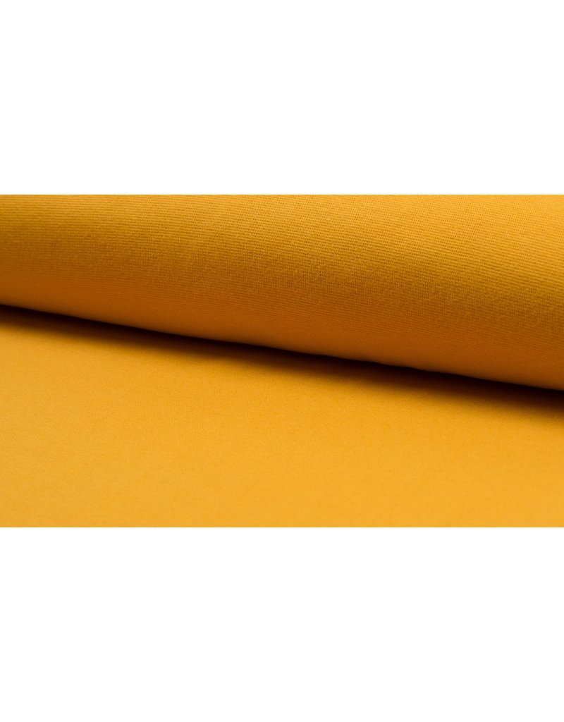 Bündchen Strickschlauch ocre senf corn