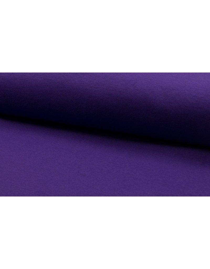 Bündchen Strickschlauch purple lila