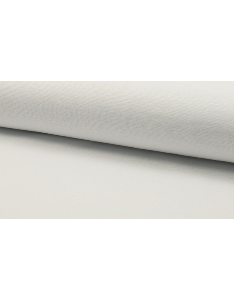 Bündchen Strickschlauch optical white