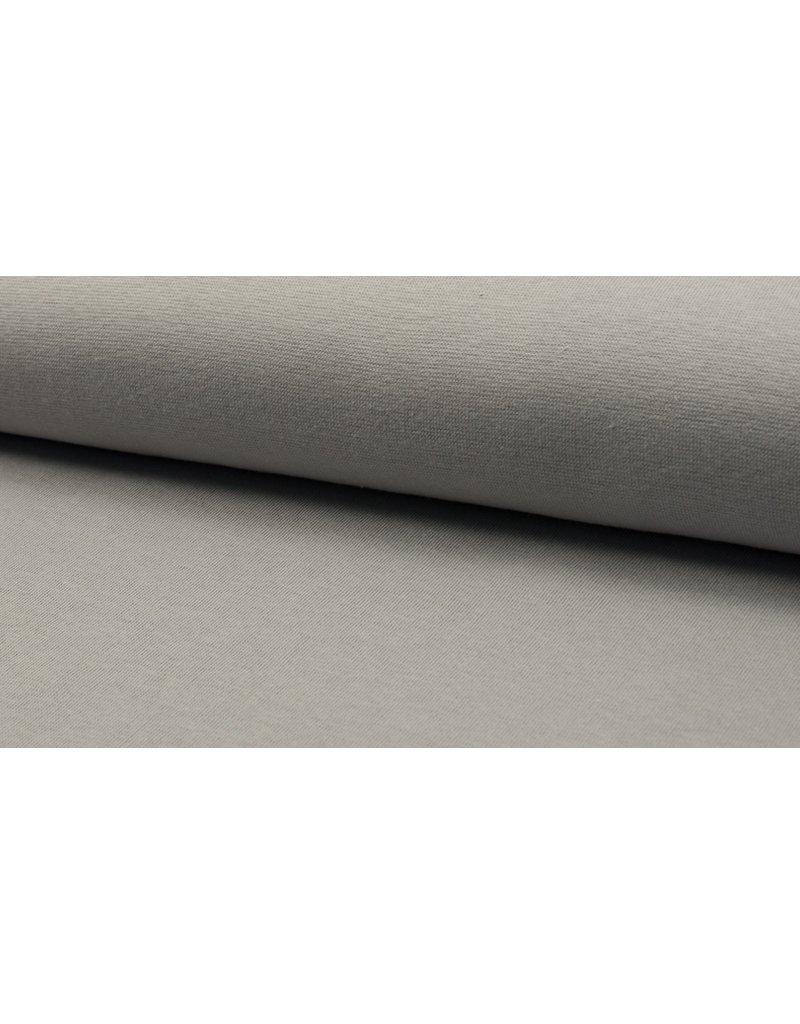 Bündchen Strickschlauch silver grey
