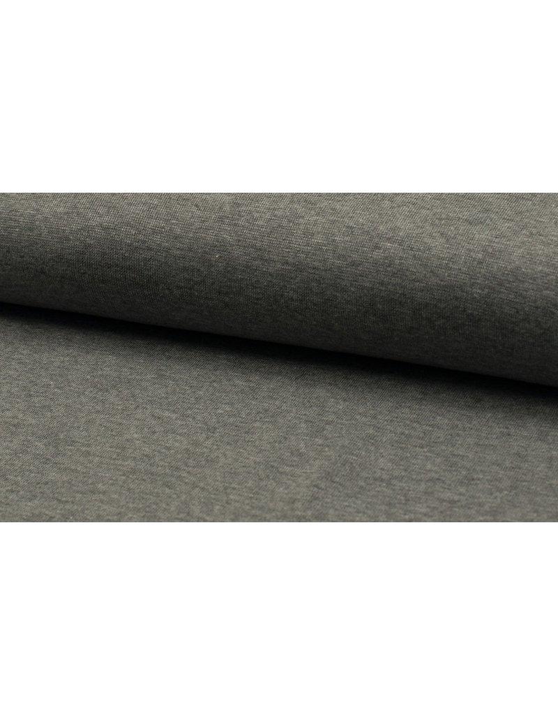 Bündchen Strickschlauch meliert grey