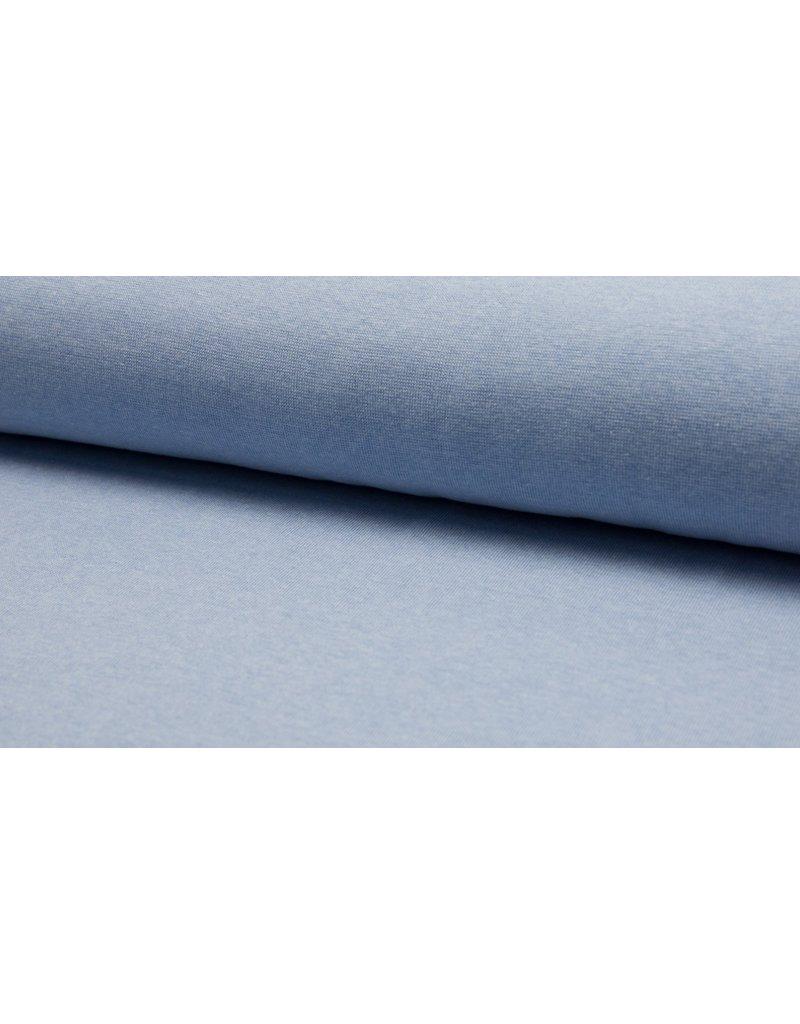 Bündchen Strickschlauch meliert light blue