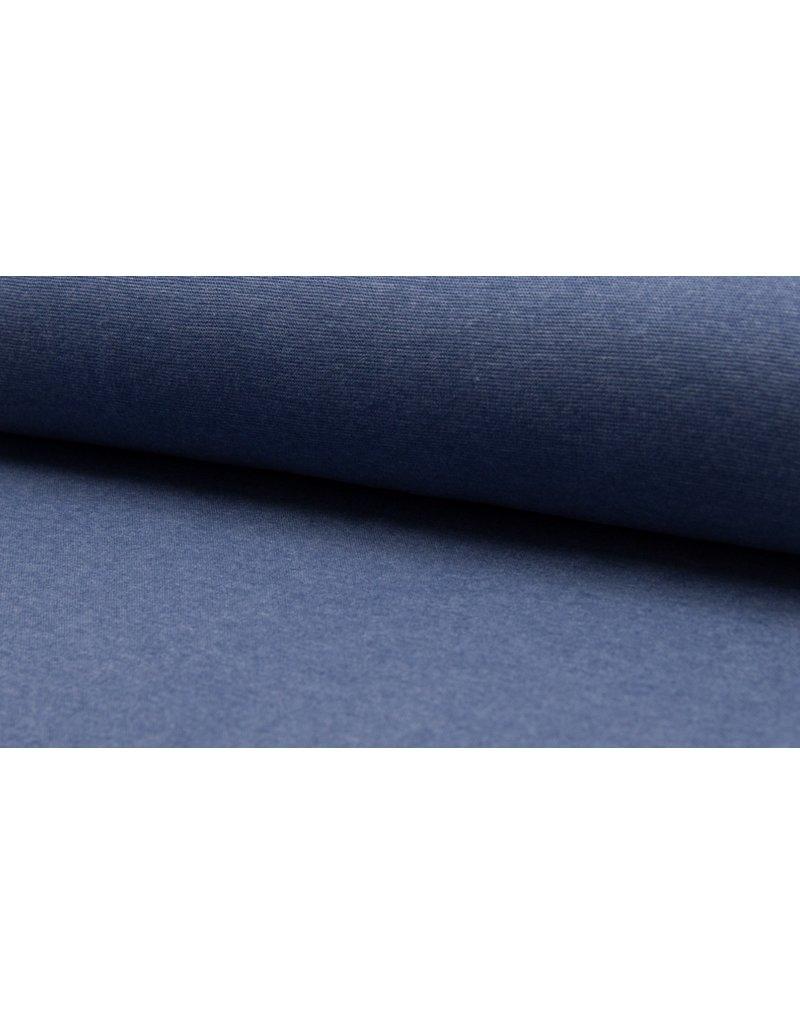 Bündchen Strickschlauch meliert light jeans
