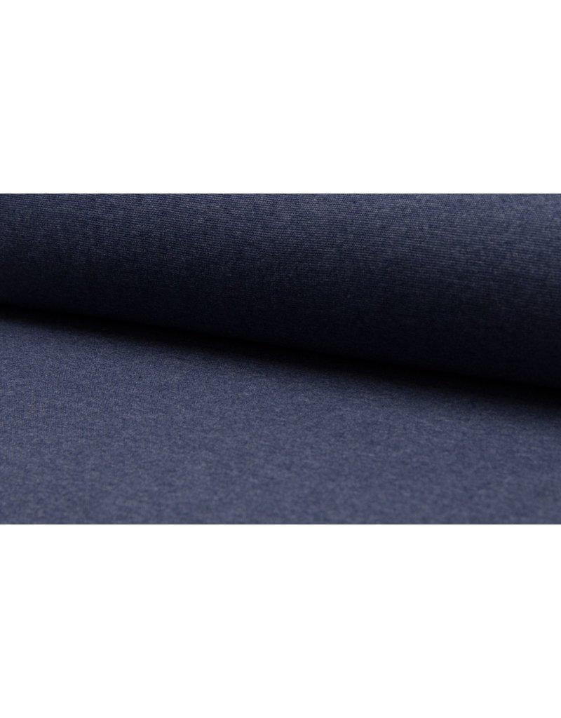 Bündchen Strickschlauch meliert jeans
