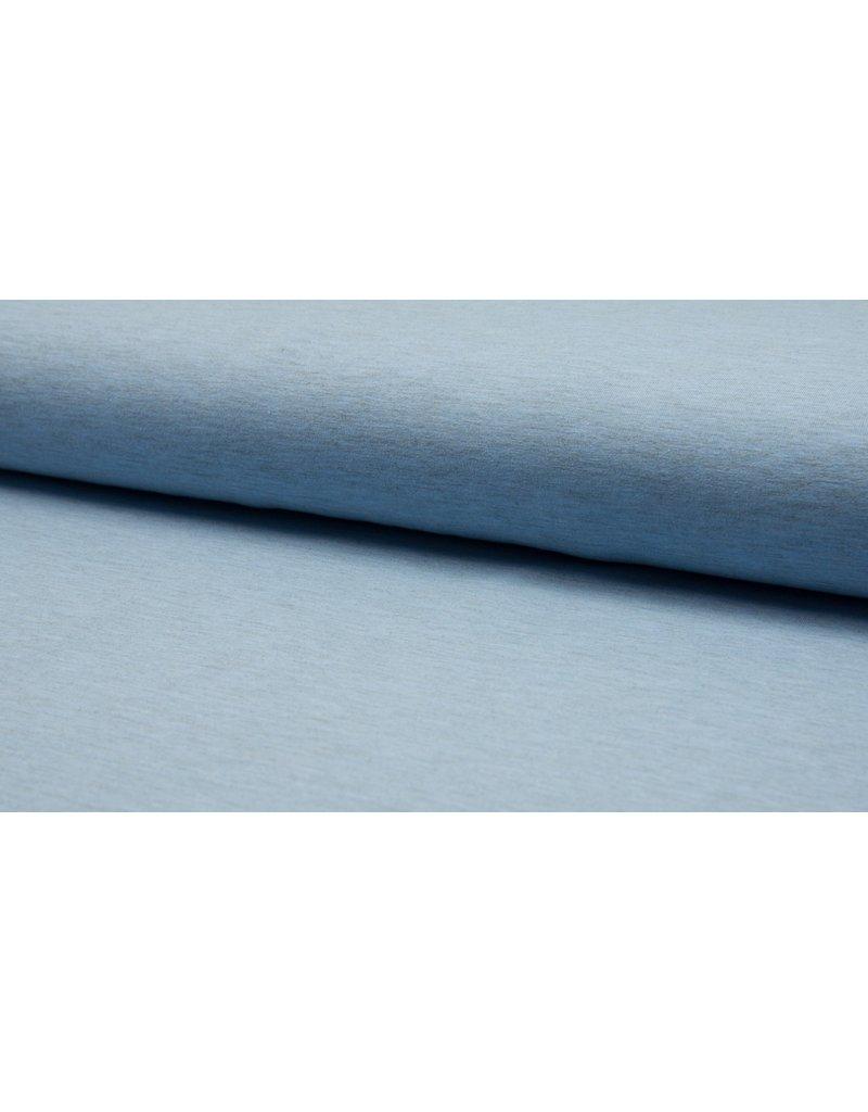 Baumwolljersey meliert blue