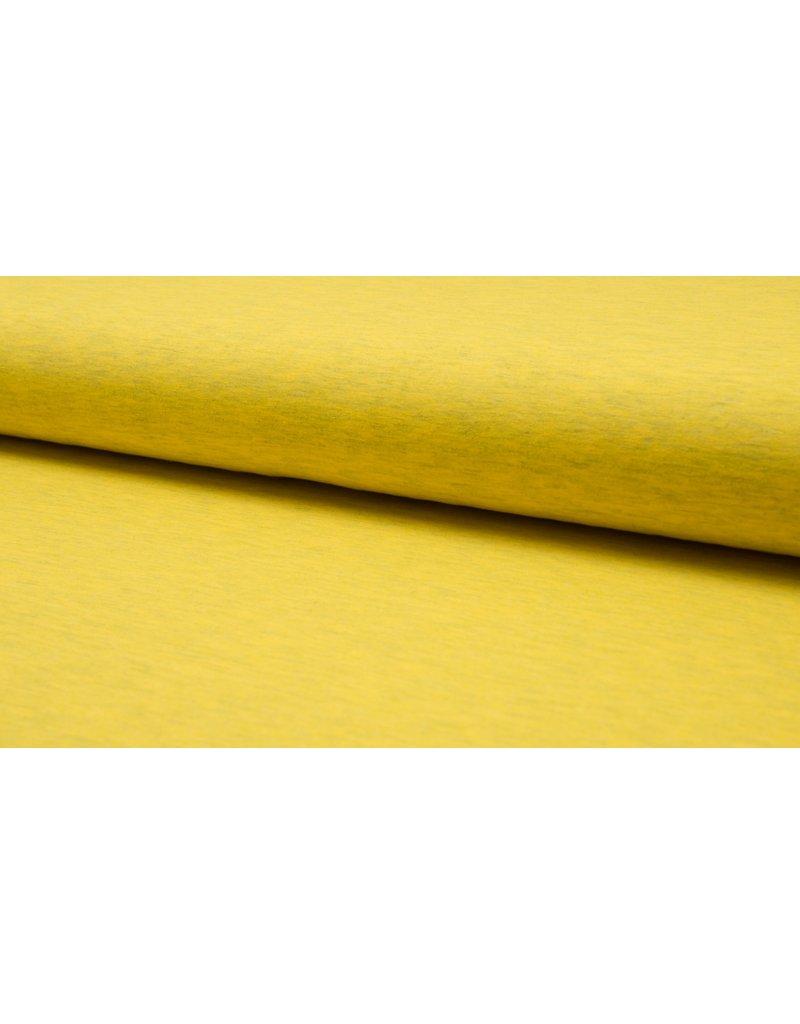 Baumwolljersey meliert yellow