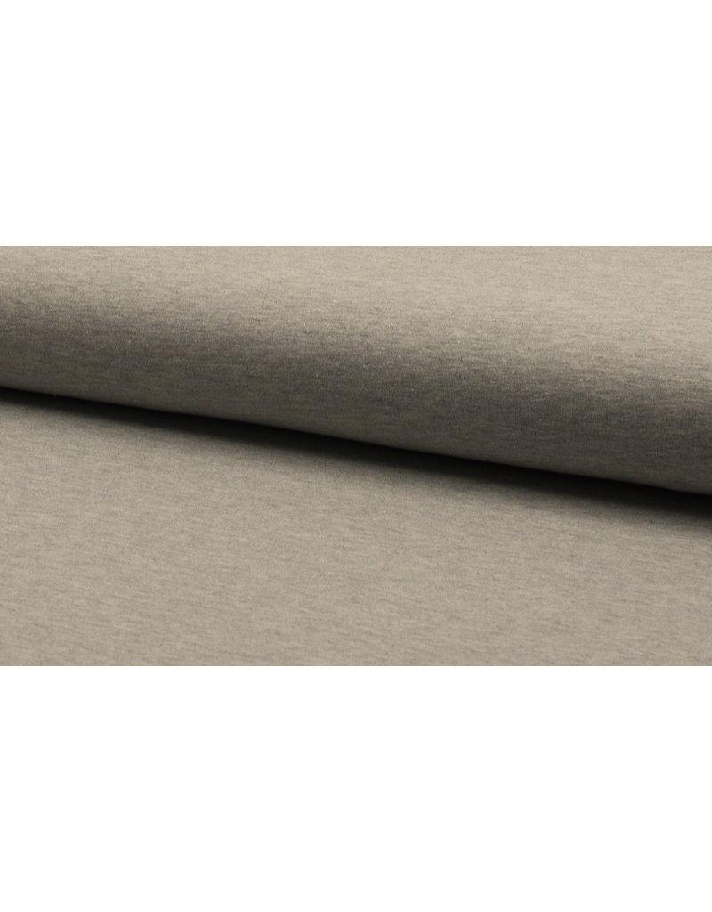 Baumwolljersey meliert light grey