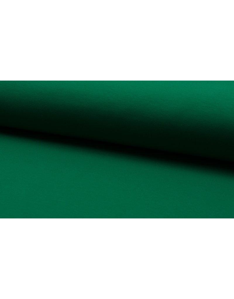Baumwollsweat uni green grün