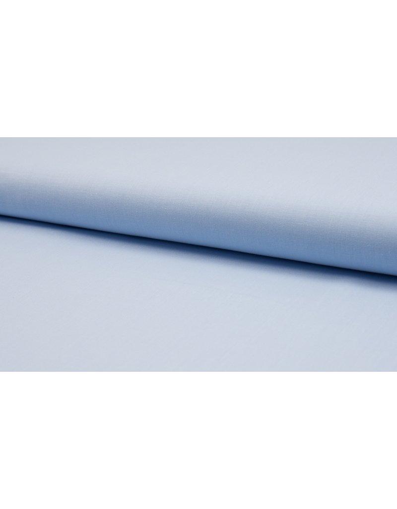 Baumwolle Uni light blue