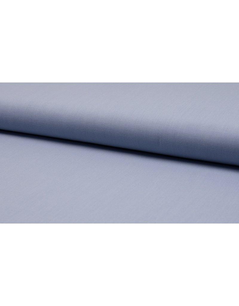 Baumwolle Uni dusty blue