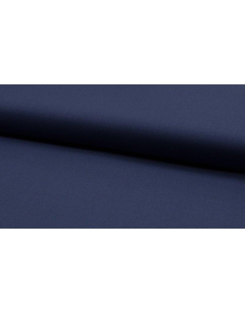Baumwolle Uni navy blue
