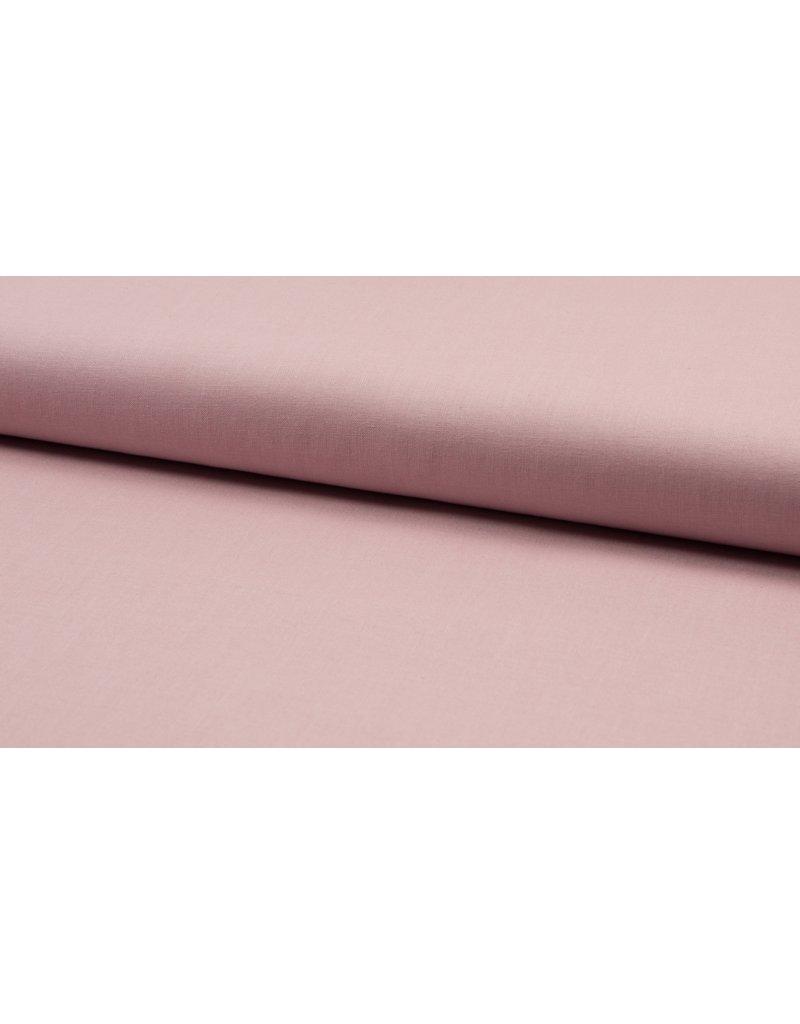 Baumwolle Uni dusty pink