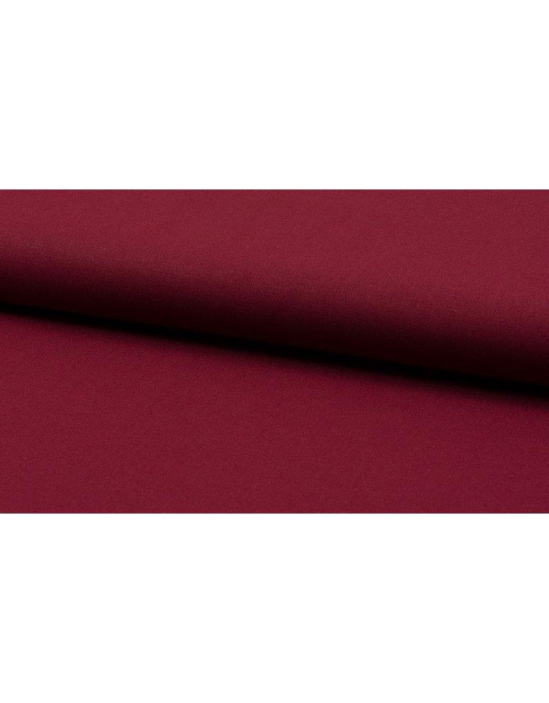 Baumwolle Uni burgundy