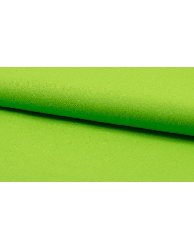 Baumwolle Uni lime