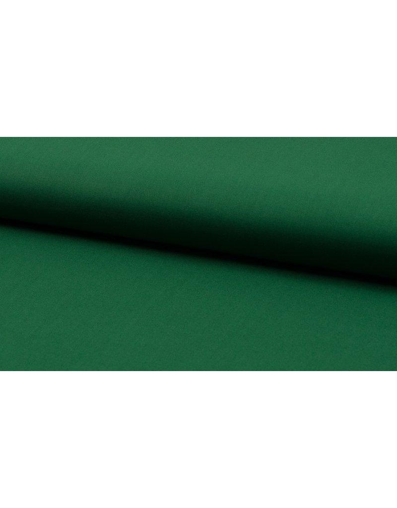 Baumwolle Uni bottle grün