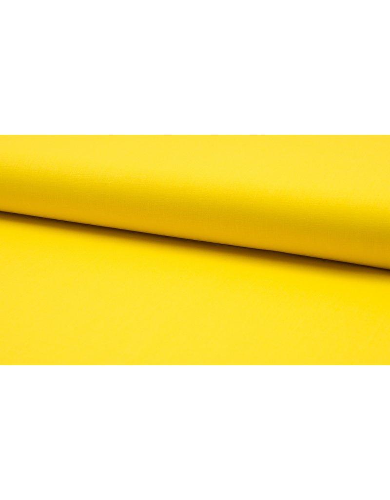 Baumwolle Uni yellow