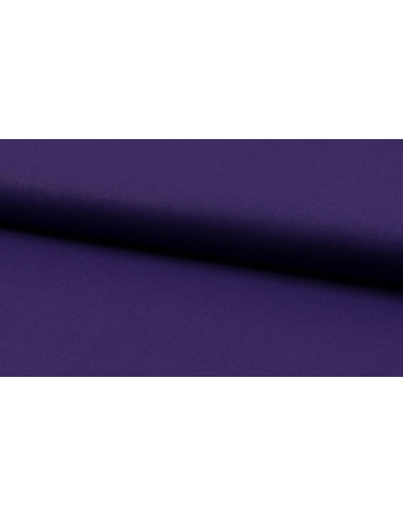 Baumwolle Uni purple