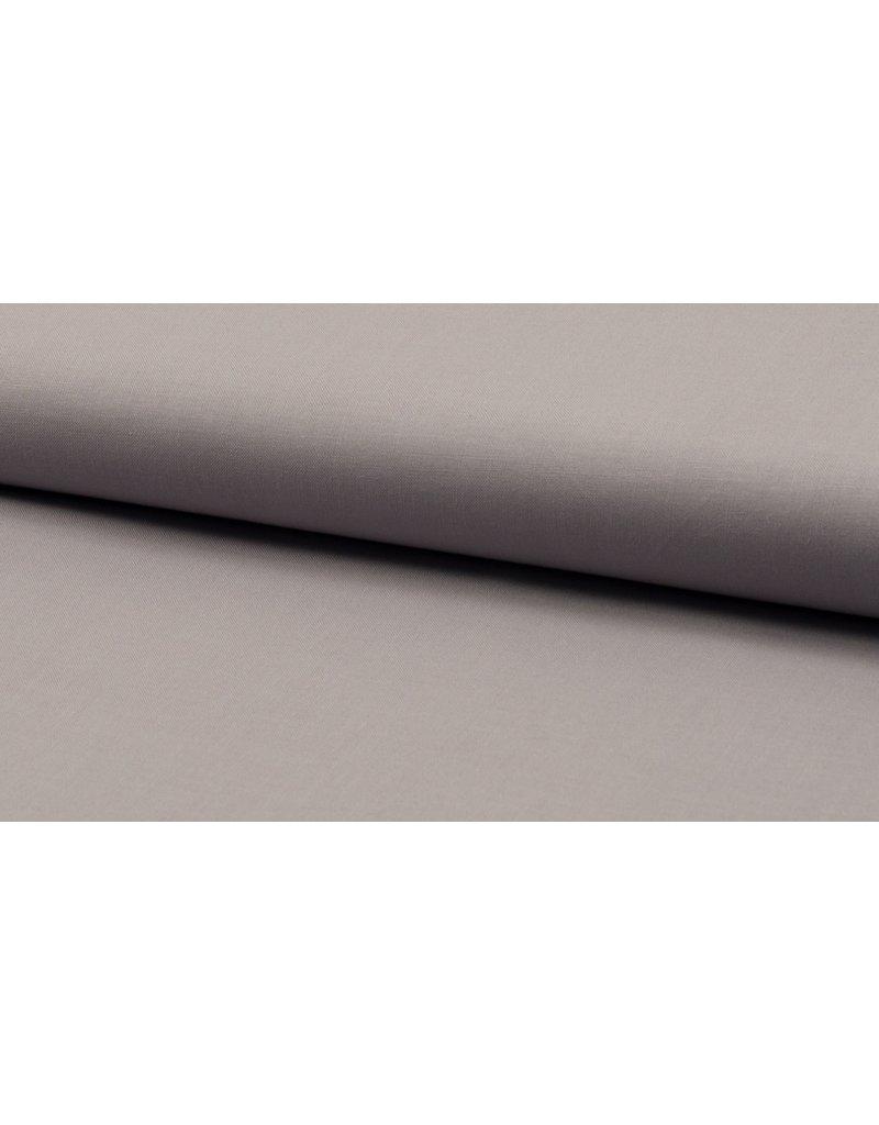 Baumwolle Uni silver grey