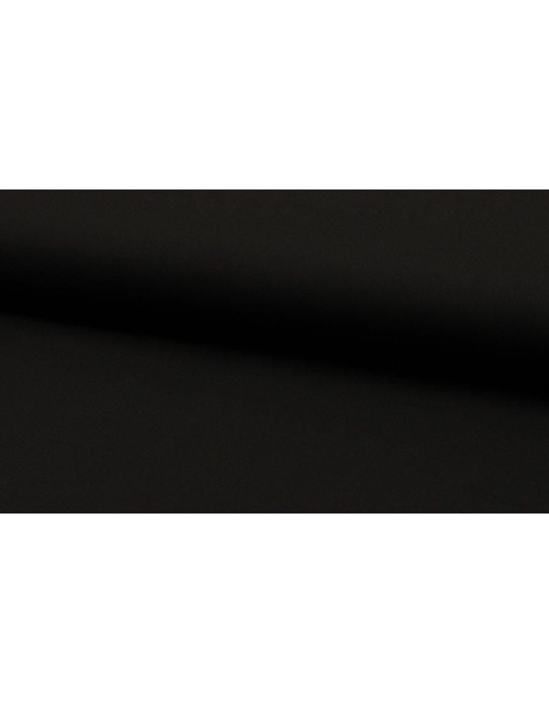 Baumwolle Uni black