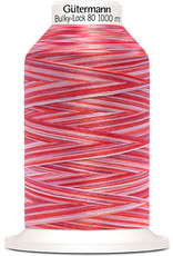 Gütermann Bulky-Lock 80 1000m Multicolor rosa, rot