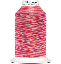 Gütermann Bulky-Lock 80 1000m Multicolor rosa, rot