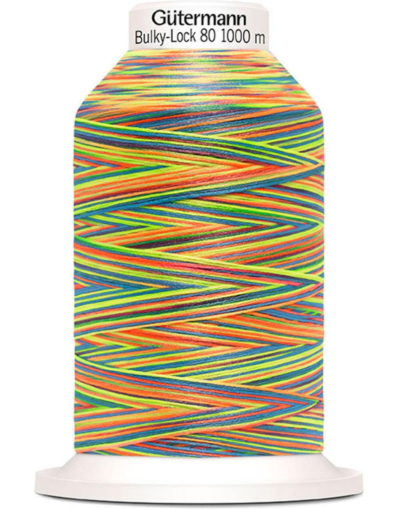 Gütermann Bulky-Lock 80 1000m Multicolor bunt