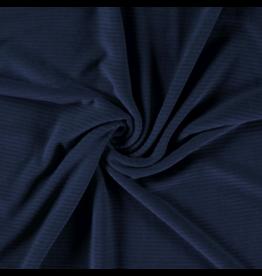 Cord dehnbar Jerseycord indigo