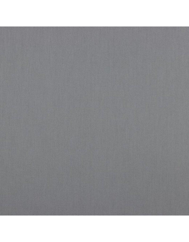 Baumwolle Uni Rock grey Steingrau