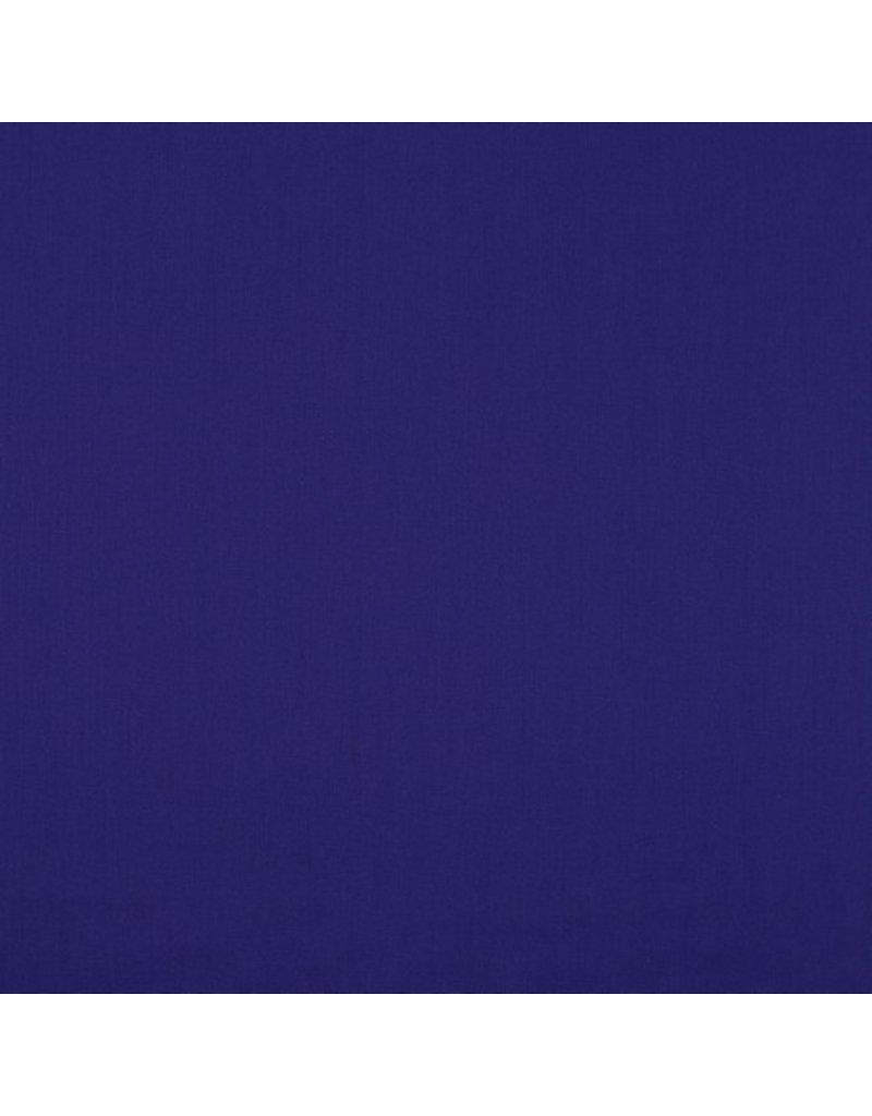 Baumwolle Uni dark cobalt