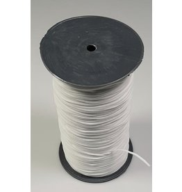 VENO Elastic Kordel 2mm weiß Soft