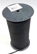 VENO Flachelastic Großrolle 5mm schwarz
