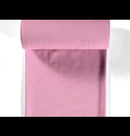 Bündchen old pink altrosa rosa Ministreifen Strickschlauch