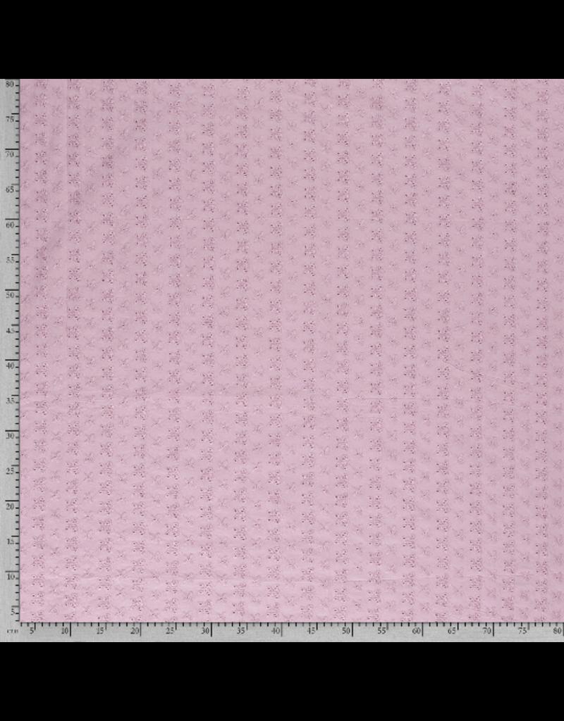 Baumwolle Spitze rosa Schmetterlinge