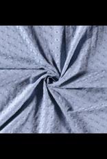 Baumwolle Spitze blau hellblau Blumen