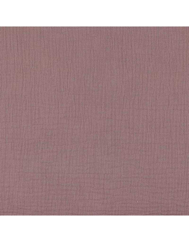Musselin Uni lilac Double Gauze
