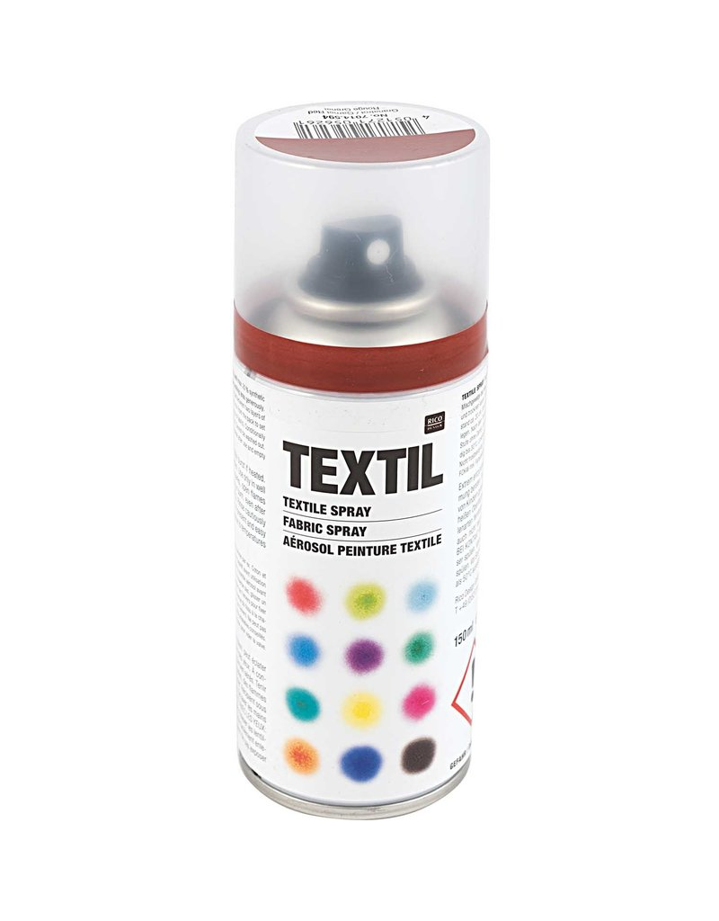 RICO Textil Spray Granatrot 150 ML Col. 594