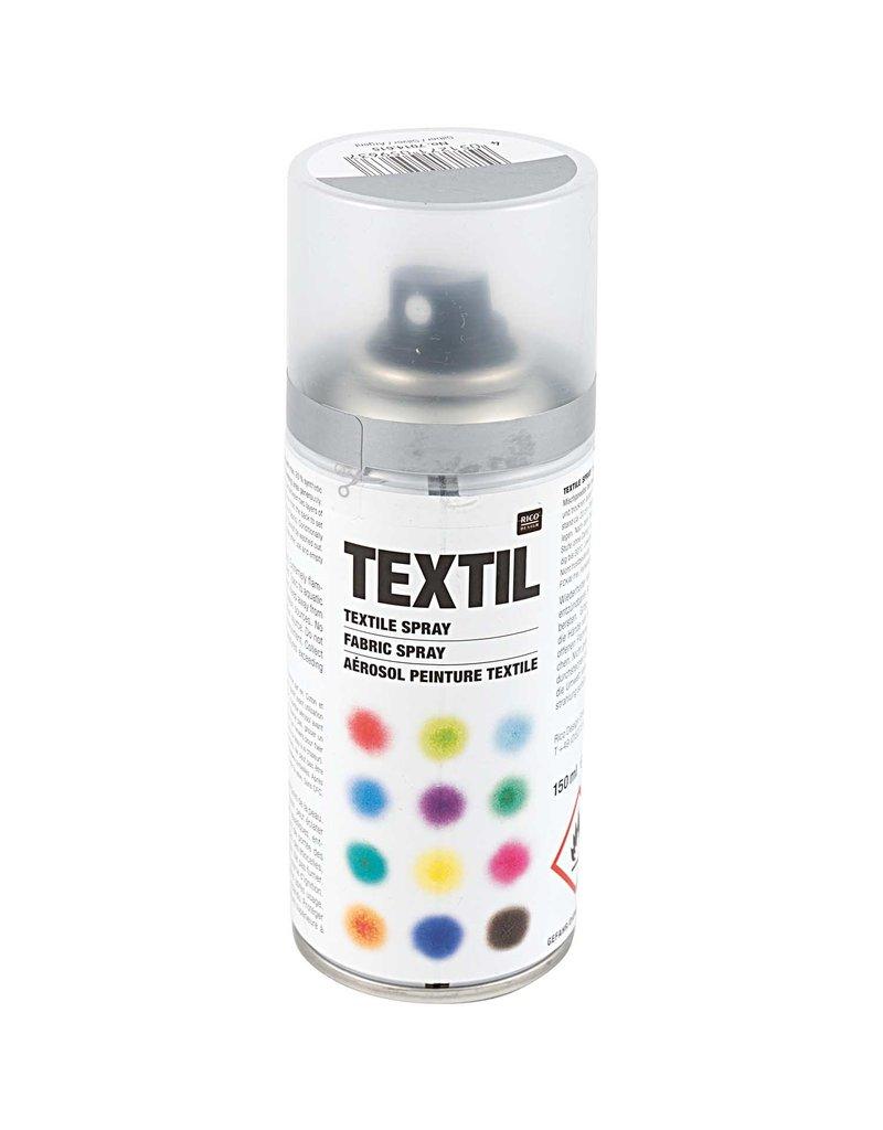 RICO Textil Spray Silber 150 ML Col. 615