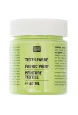 RICO Textilfarbe Blattgrün 40 ML Col. 515