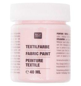 RICO Textilfarbe Rosa 40 ML Col. 505