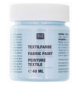 RICO Textilfarbe Hellblau 40 ML Col. 512