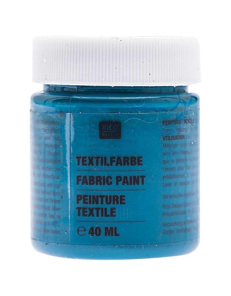 RICO Textilfarbe Petrol 40 ML Col. 513