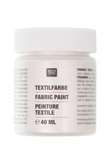 RICO Textilfarbe Perlmutt 40 ML Col. 528
