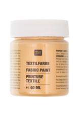 RICO Textilfarbe Gold 40 ML Col. 527