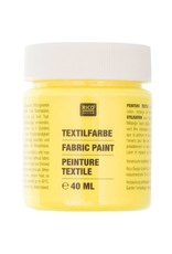 RICO Textilfarbe Neongelb 40 ML Col. 521